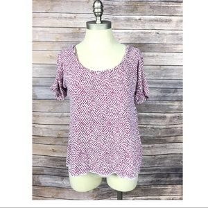LILKA ANTHROPOLOGIE Size Small Wavy Top